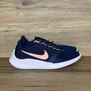 NEW Nike Women's VTR Navy/Pink Sneaker Sz- 6